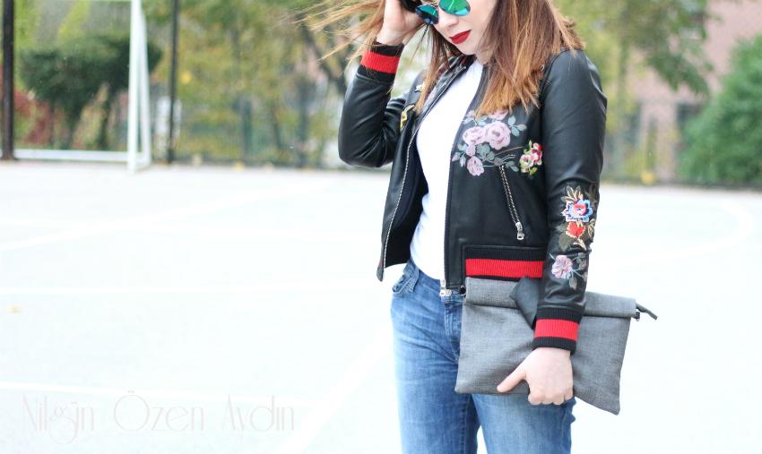 www.nilgunozenaydin.com-fashion blogger-fashion blog-nakışlı deri ceket-moda blogu