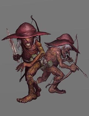 Omuncoli (The One Ring RPG - Oak Men by ScottPurdy)