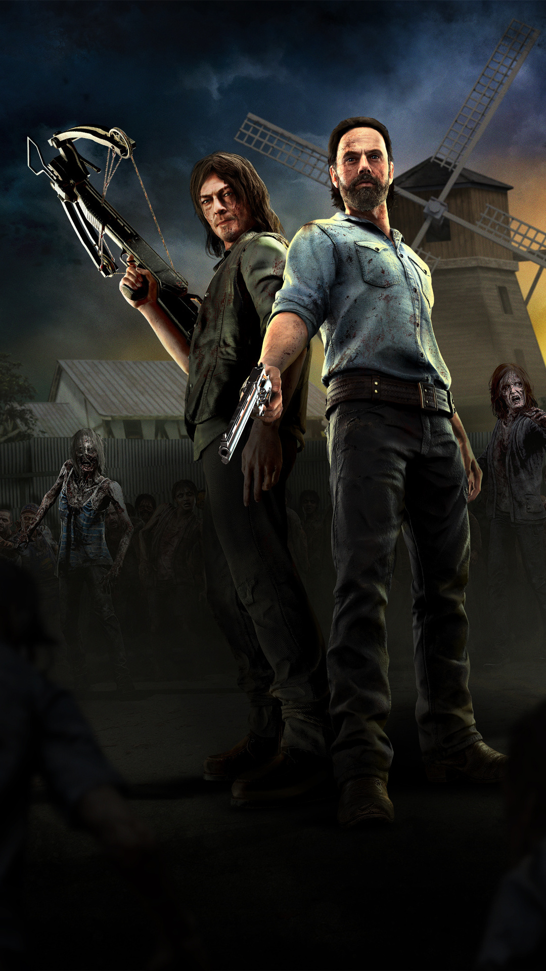 The Walking Dead Onslaught PC Background