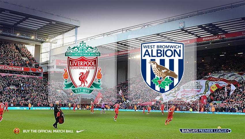 Prediksi Skor Liverpool vs West Bromwich Albion 22 Oktober 2016