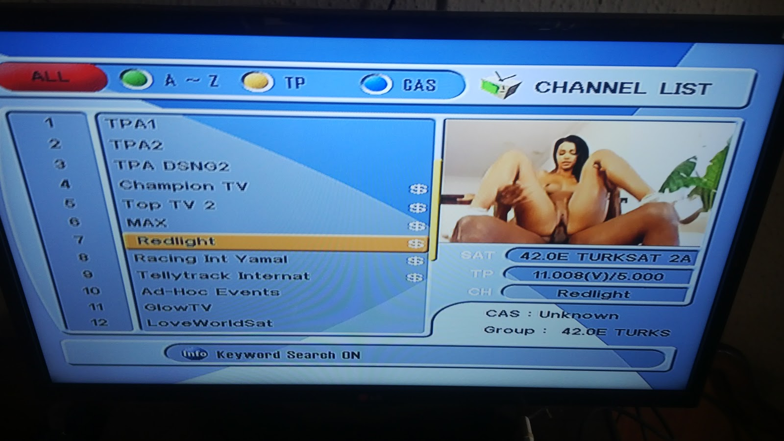 Каналы спутникового тв с порно сучки огромная