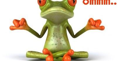 Resultat d'imatges de rana para meditar