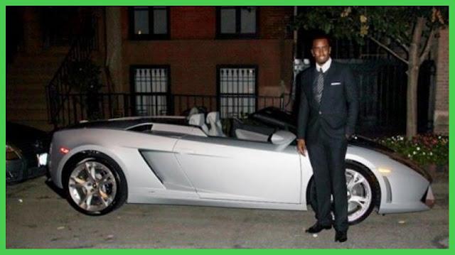 P Diddy owns a Lamborghini Gallardo Spider