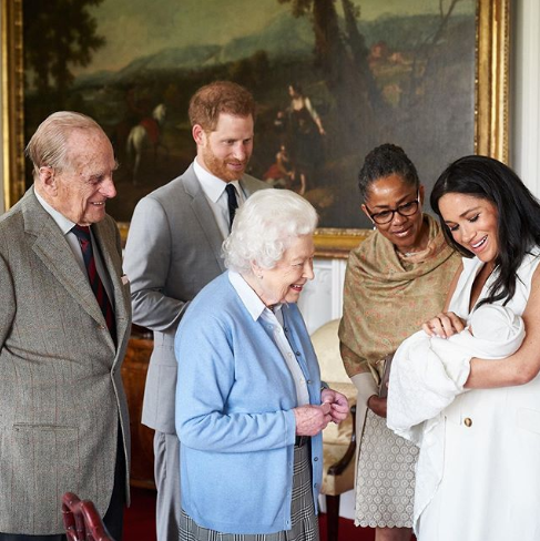 The Duke and Duchess of Sussex announce the name of their son. It's Archie Harrison Mountbatten-Windsor.
