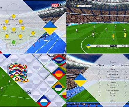 PES 2017 UEFA Nations League 2020 Scoreboard