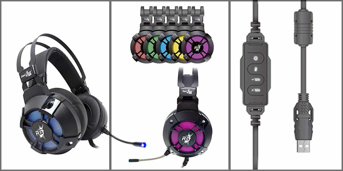 cheap redgear headphones