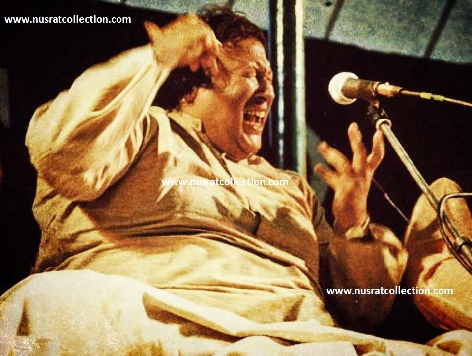 Lyrics Kali Kali Zulfo Ke Phande Na Dalo by Nusrat Fateh Ali Khan