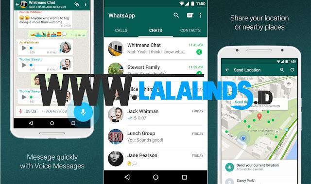 Download WhatsApp Messenger 2.17.323 APK Terbaru