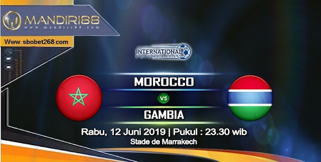 Prediksi Morocco vs Gambia, Rabu 12 Juni 2019 Pukul 23.30 WIB