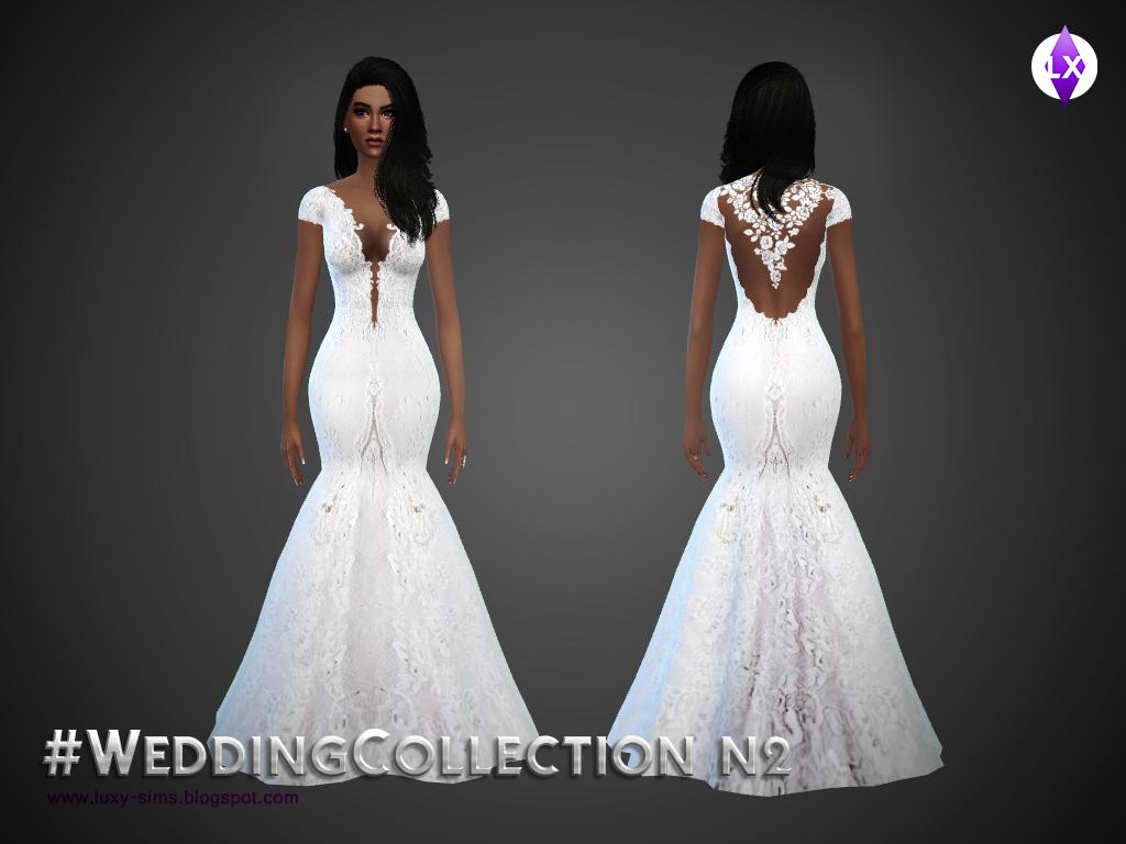 Sims 3 Cc Wedding Hair | beo s wedding dress 39, beo ...