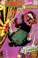 Strange Adventures v1 #209 dc 1960s silver age comic book cover art by Neal Adams