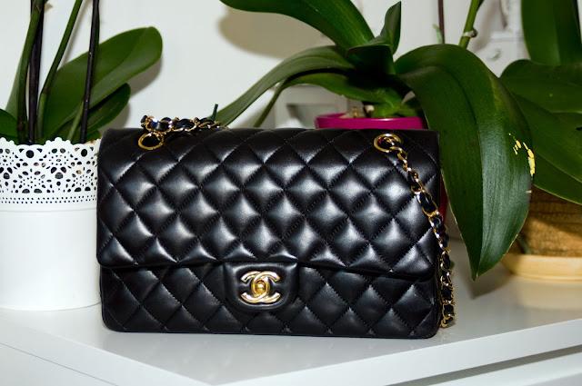 oryginalna torebka Chanel model Flap 2.55 klasyczna kopertówka