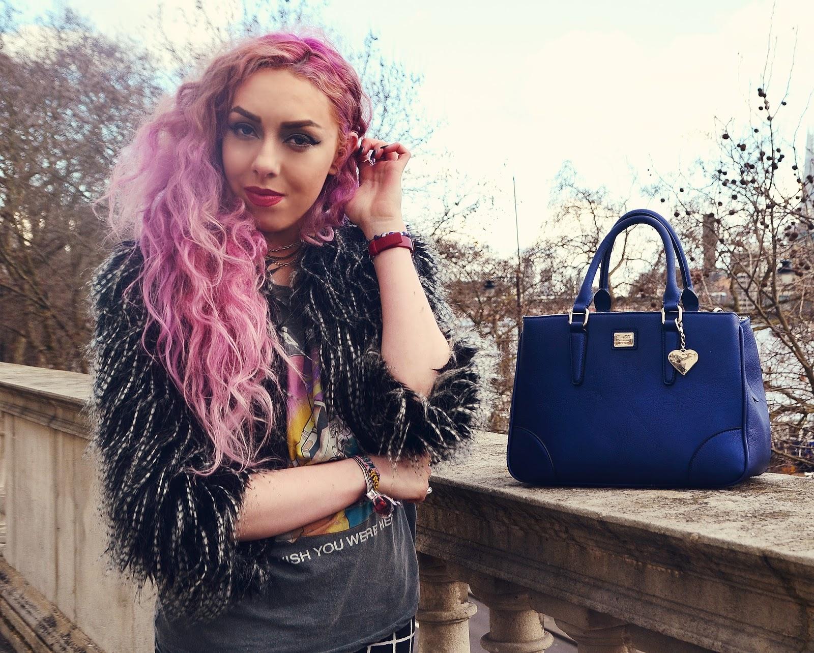 London Fashion Week Pastel Hair