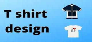 Tshirt design work online