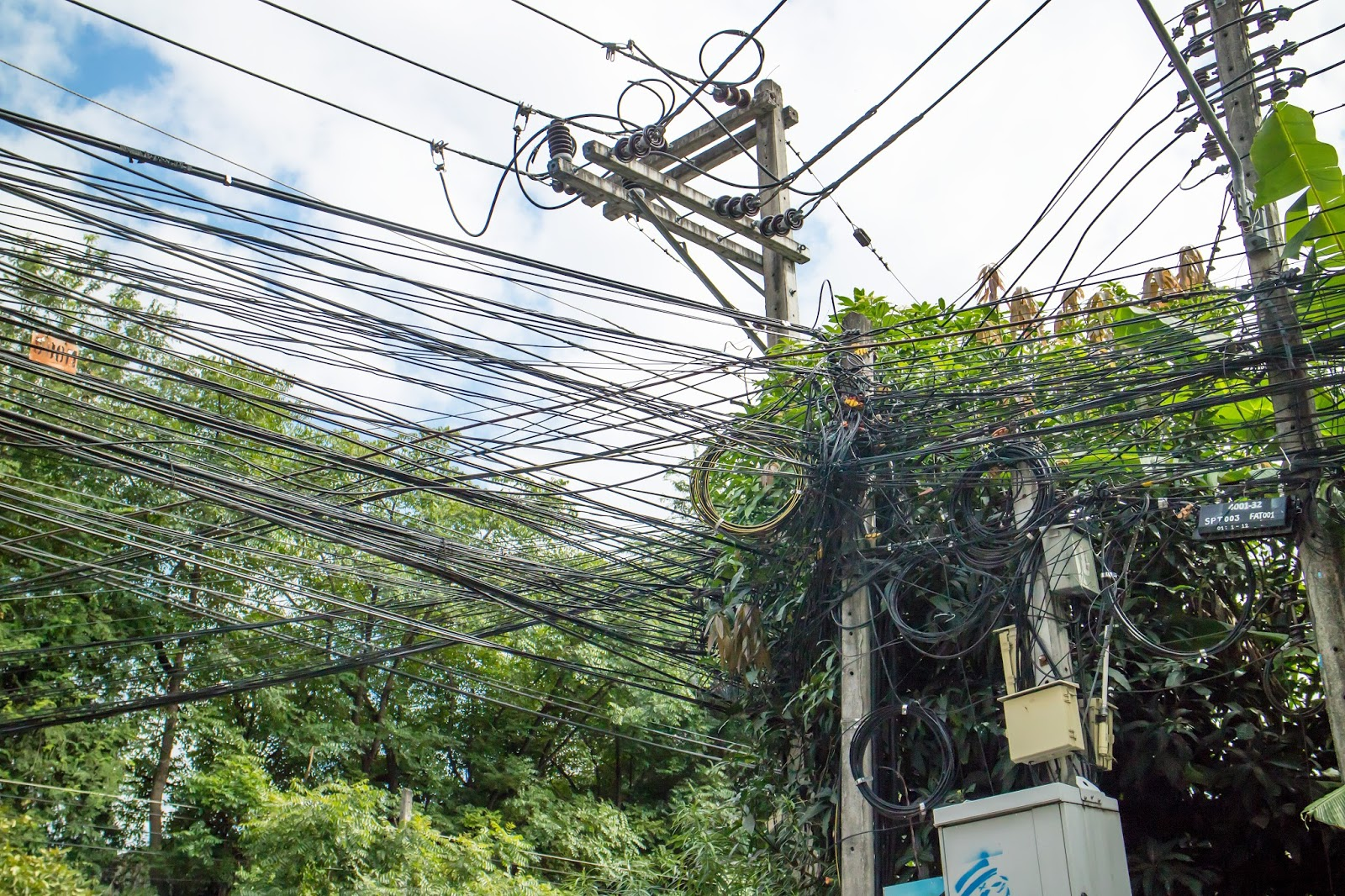 Power Lines | Chiang Mai, Thailand