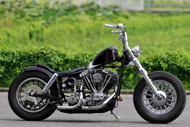 Harley Davidson Shovelhead By Nuts Custom Cycles Hell Kustom