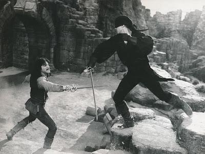 Combate singular, duelo de espadas, La Princesa Prometida