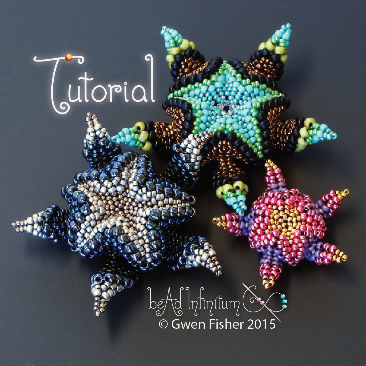 Gwenbeads New Tutorial - Cellini Asterisk Pendants-6830