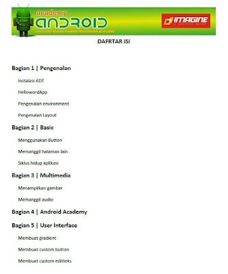 Belajar Program Android ebook