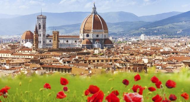 Passagem aérea para Florença