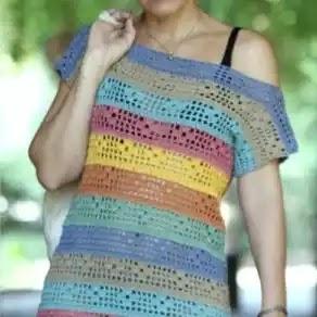 Vestido Martina a Crochet