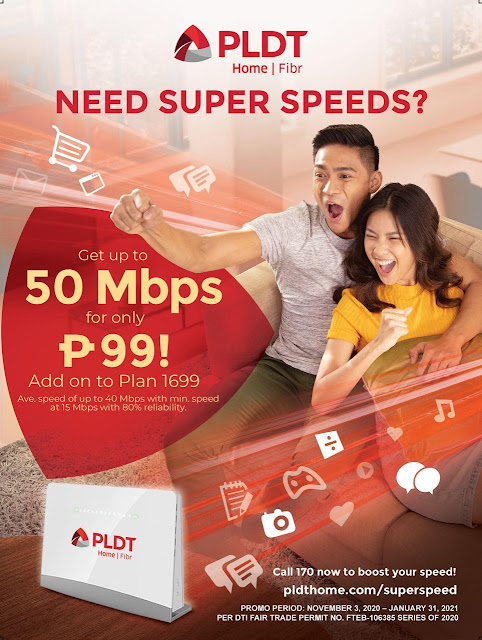 PLDT upgrade Gizmo Manila