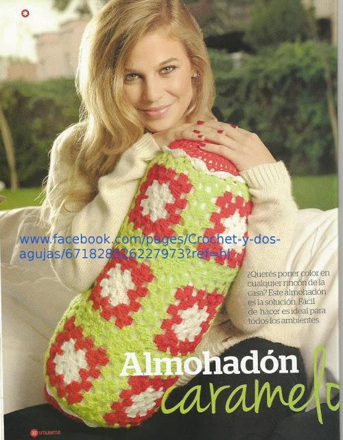 Almohadon a Crochet