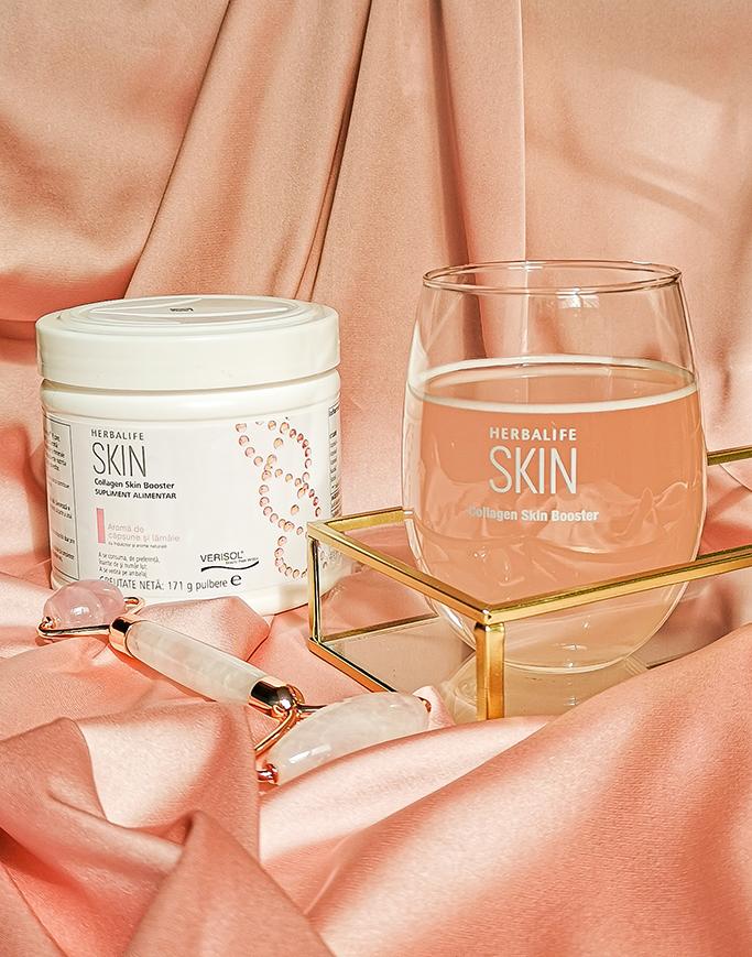 adina nanes collagen skin booster herbalife