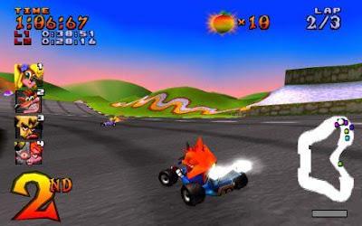 crash team racing game ps terbaik dan populer