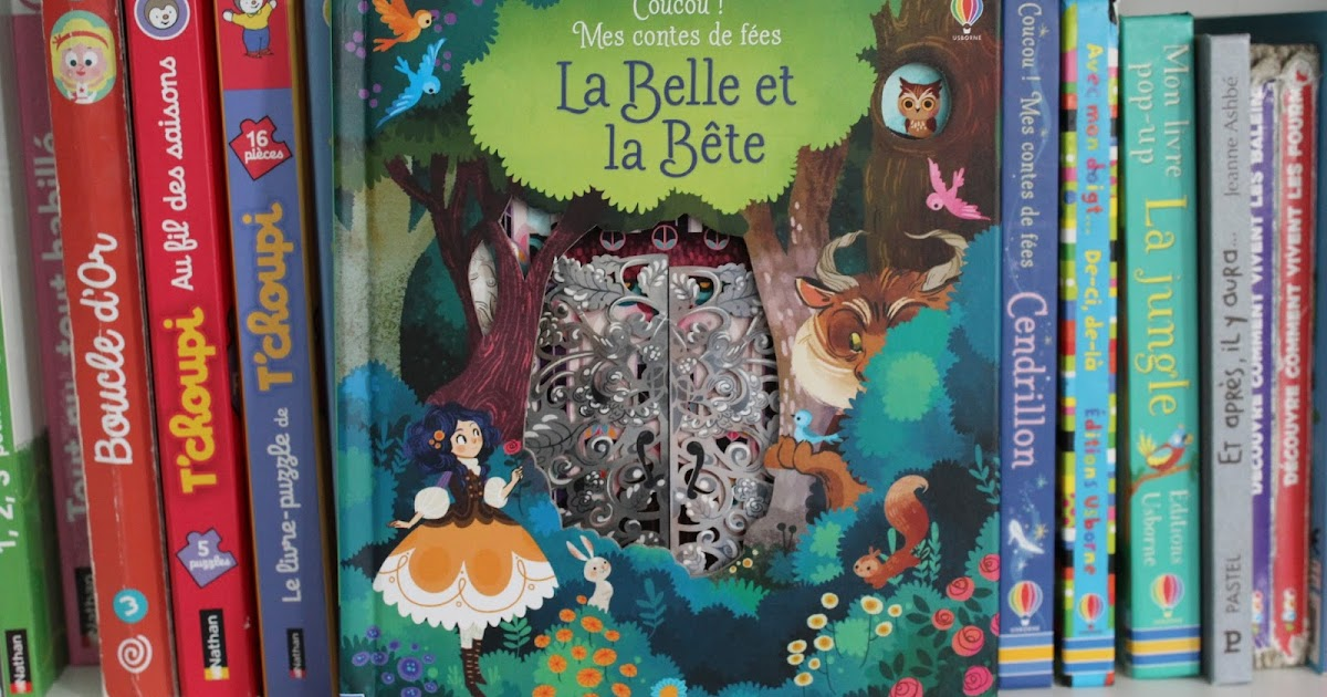 f83bbcab975 Coucou! Mes petits contes  La belle et la bête- éditions Usborne