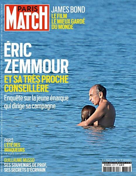 « Paris Match Mène L'enquête Sur Sarah Knafo » : Eric Zemmour Et Sa Très Proche Conseillère