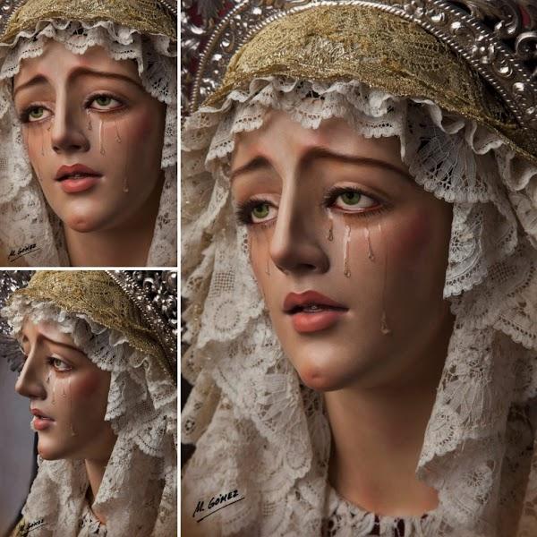 Así es la Virgen de la Consolación, la última dolorosa de Alfonso Castellano Tamarit