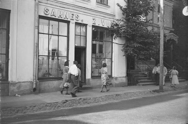 """1955 год. Рига. """"Saknes. Zivis""""."""
