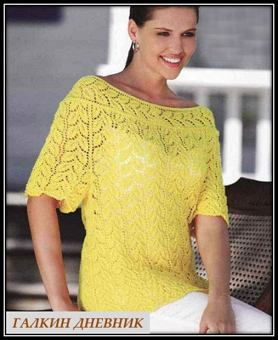 ajurnii pulover spicami (2)