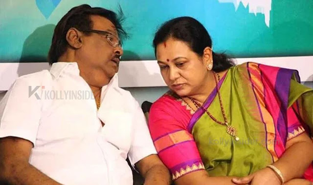 Vijayakanth recovered from COVID-19, his wife Premalatha is stable