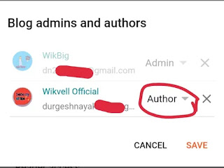 blogger Settings Invite More authors में क्या करें, ब्लॉग पर अधिक लेखकों को आमंत्रित करें, Invite More authors Blog Website Settings