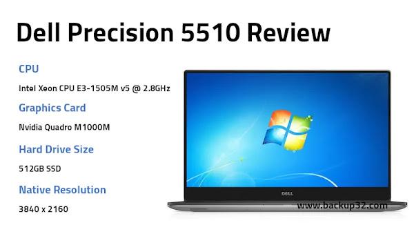 مراجعة لاب توب Dell Precision 5510