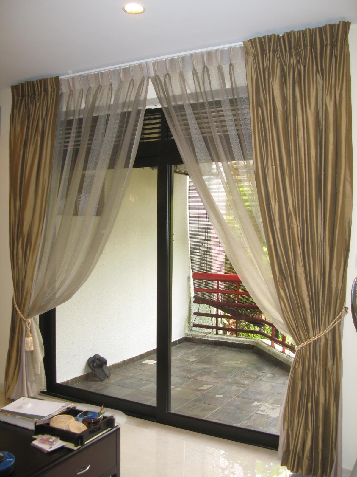 Future House Design: Stylish Interior With Window Curtain ...