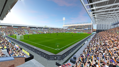 PES 2020 Stadium Carrow Road [ Reworked Lightning ]