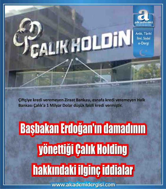 ak parti, akp'nin gerçek yüzü, çalık holding, recep tayyip erdoğan, yolsuzluk ve usulsüzlükler