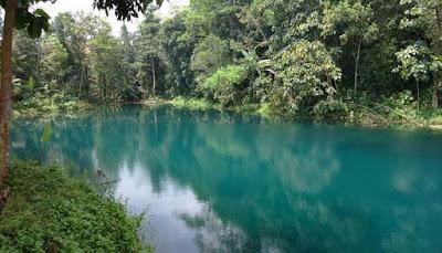 Danau Biru Majalengka