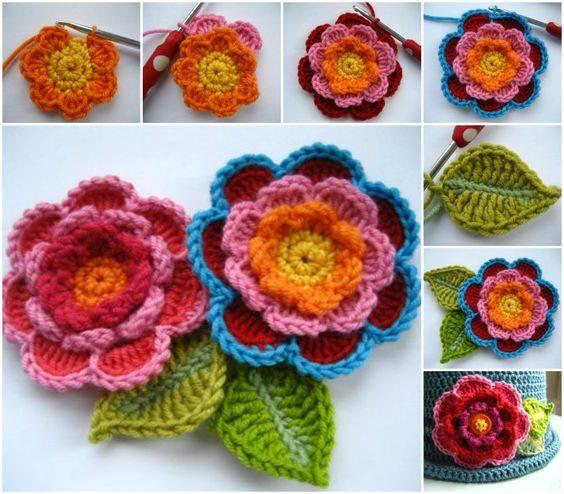 21 DIY Tutoriales Paso a Paso de Labores a Crochet