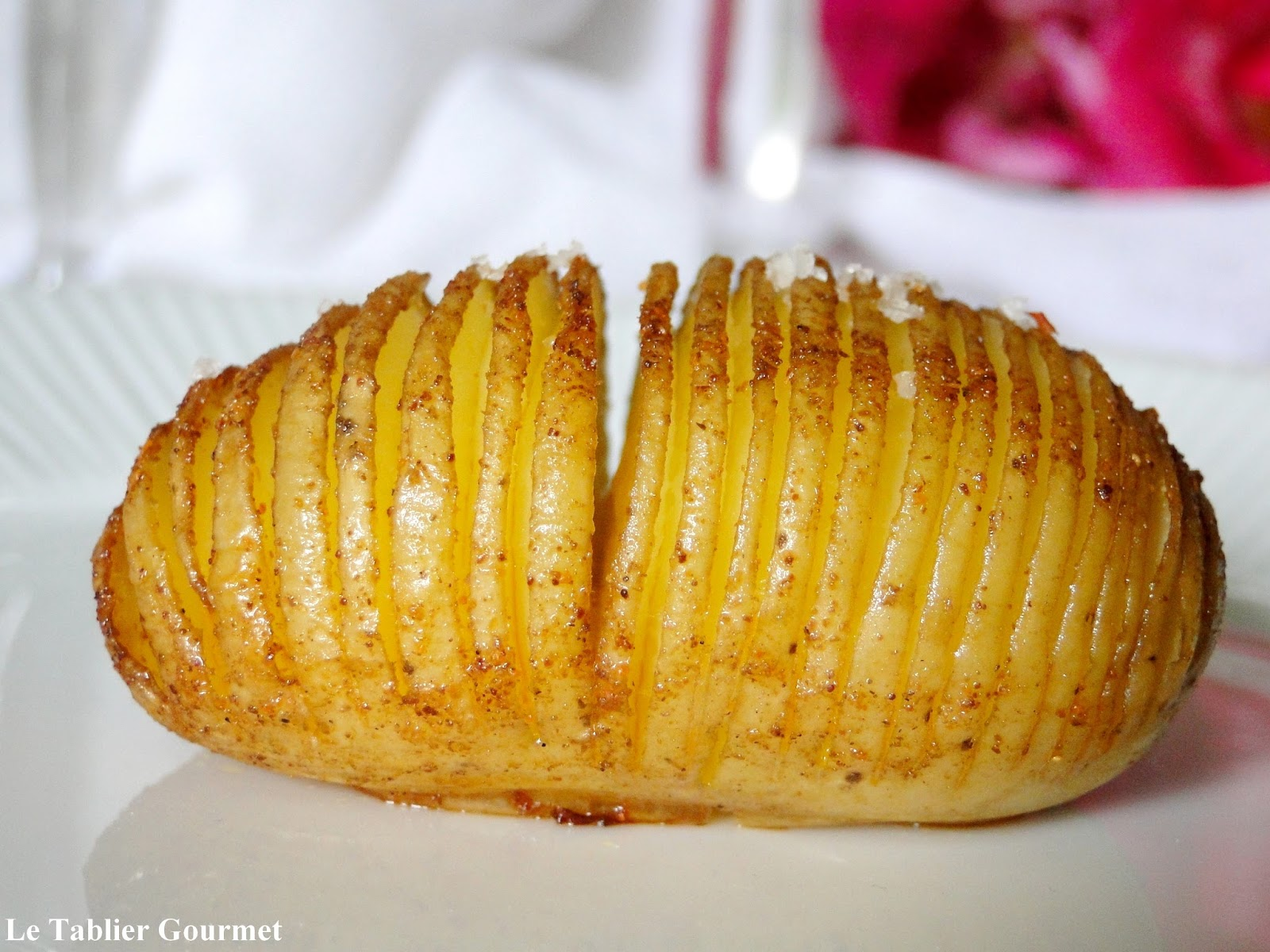 les hasselback potatoes. Black Bedroom Furniture Sets. Home Design Ideas