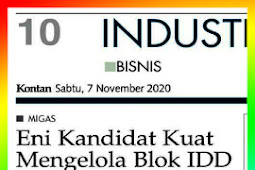 Eni Strong Candidates to Manage IDD Block