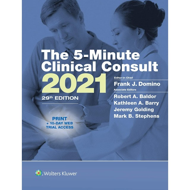 The 5-Minute Clinical Consult 2021 Pdf Free Download
