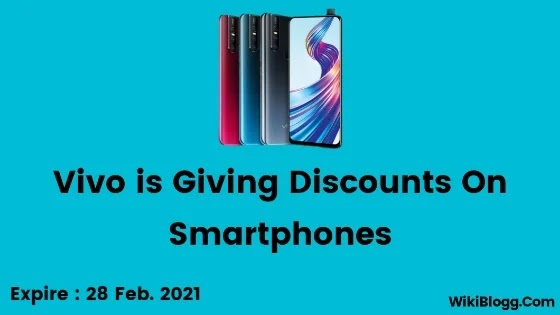Vivo is giving huge discounts on Valentine's Day