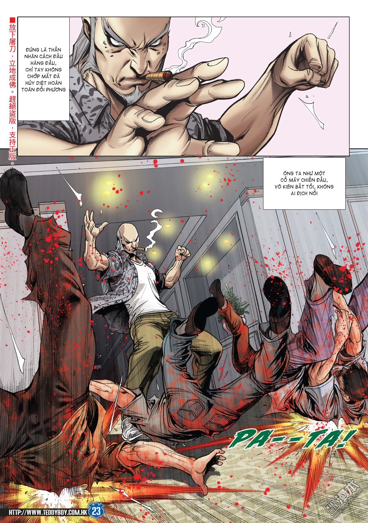 Người Trong Giang Hồ chapter 2026: khí diệm tông sư trang 22