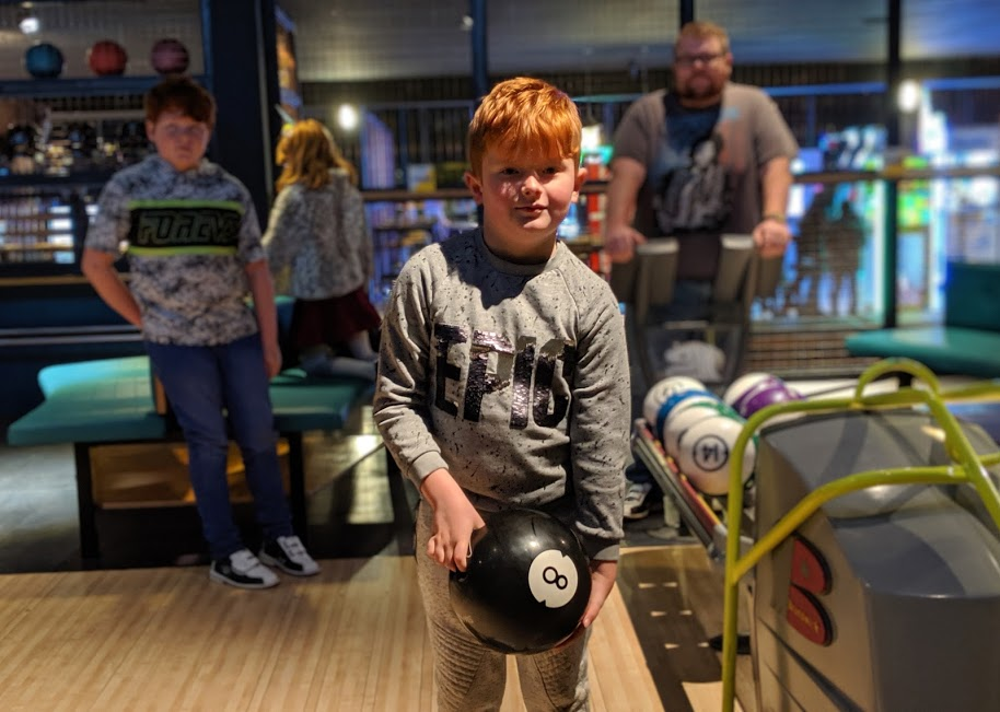 Gutterball Royal Quays Review   - bowling lane