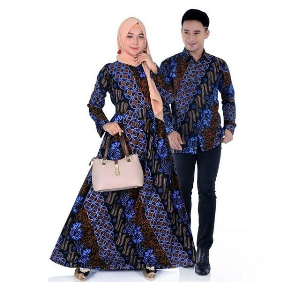 Pengin Beli Batik Pasangan ? Dengan Model Gamis Mulai dari Rp 120.000 Aja Kaka