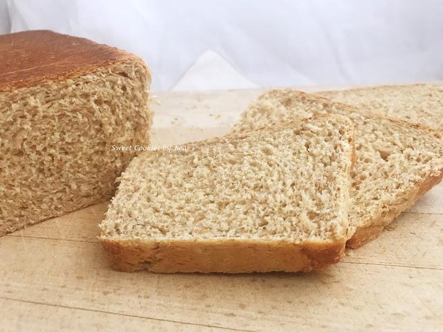 Pan de molde integral básico y fácil